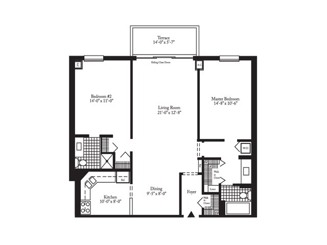 2 bed 2 bath apartment in oakbrook terrace il for 17 west 720 butterfield road oakbrook terrace il 60181