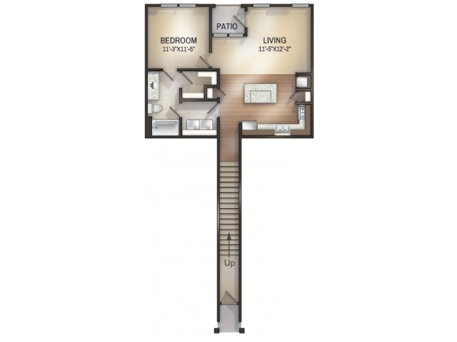 Argyle II Unfurnished Floor Plan