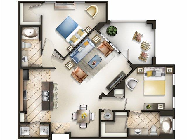 Montage: 2 Bedroom