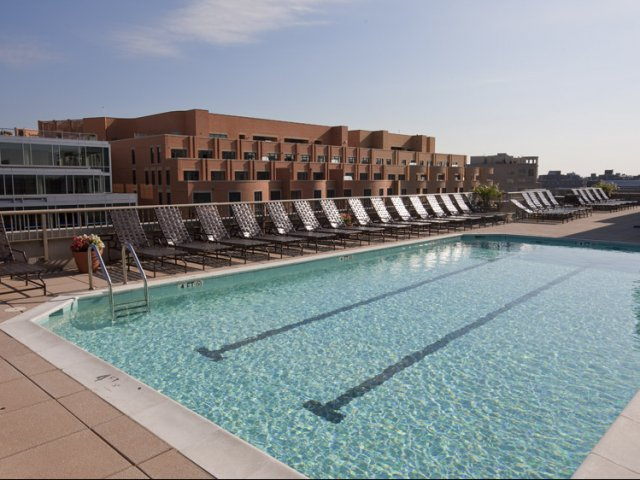pool apartment homes in washington dc meridian at gallery place