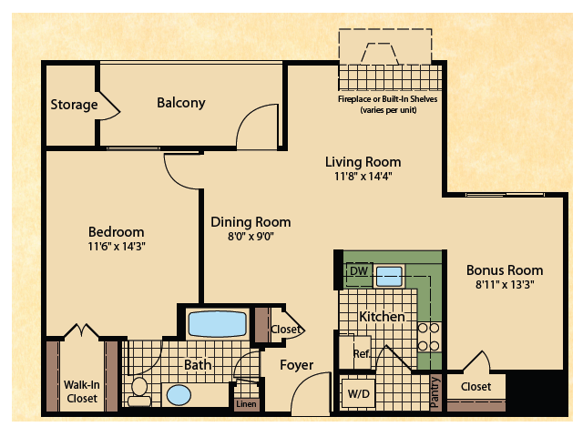 bed 1 bath apartment in wayne nj mountain view crossing