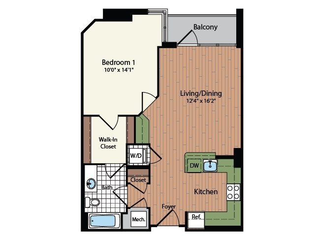 Floor Plan 13 | Meridian at Mt Vernon Triangle