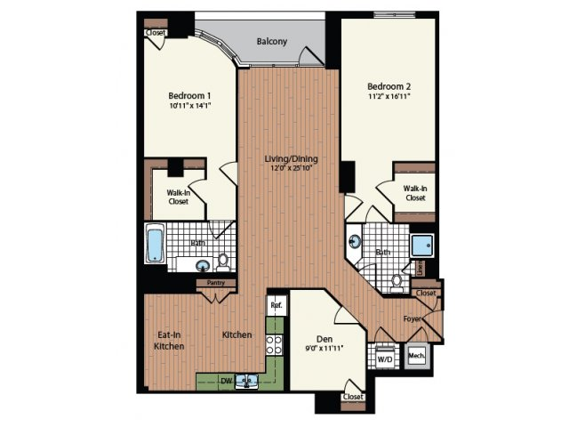 Floor Plan 29 | Meridian at Mt Vernon Triangle