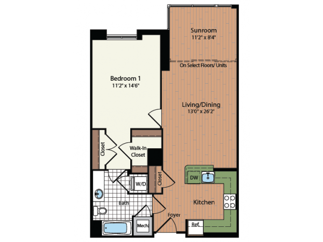 Floor Plan 3 | Meridian at Mt Vernon Triangle