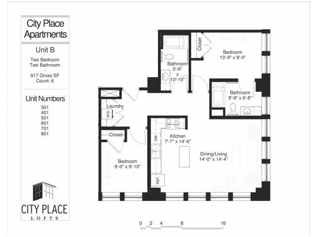 Nicollet Floor Plan