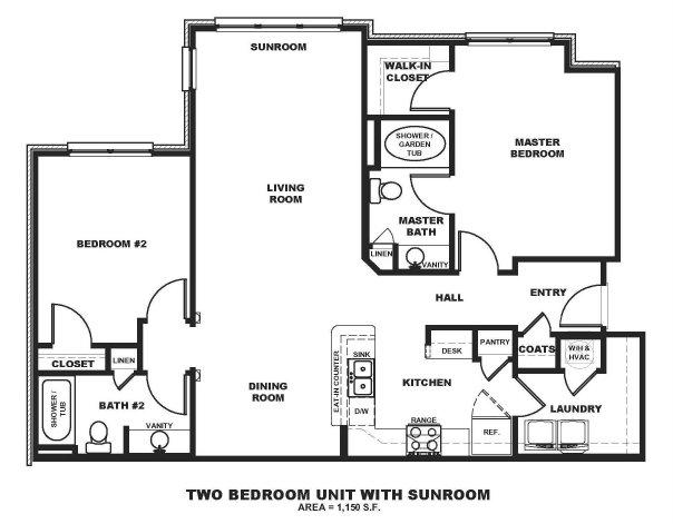 2 Bed / 2 Bath Apartment In Fort Worth TX