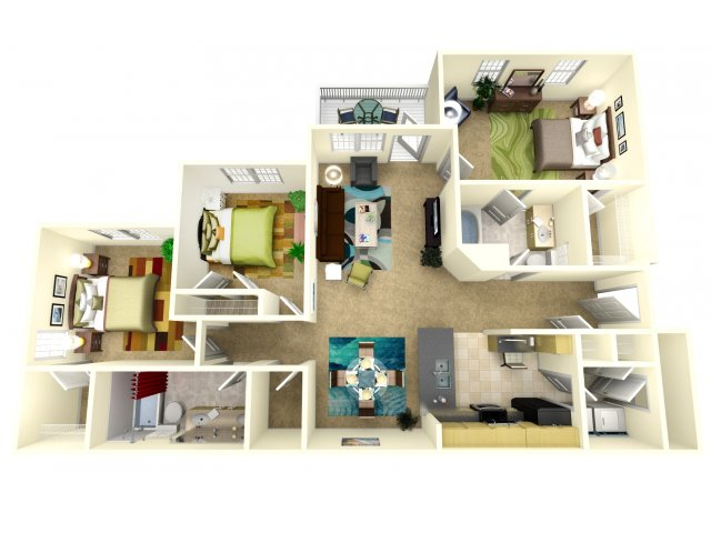1 2 3 Bedroom Apartments in Jacksonville FL