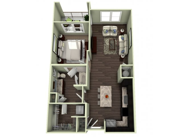 Floor Plan 6 | LaVie SouthPark