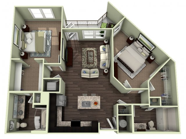 Floor Plan 11 | LaVie SouthPark