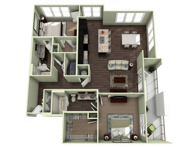 Floor Plan 20 | LaVie SouthPark