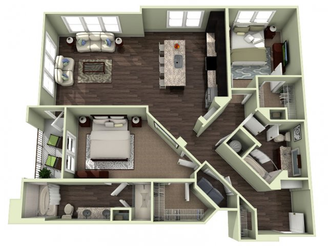Floor Plan 19 | LaVie SouthPark