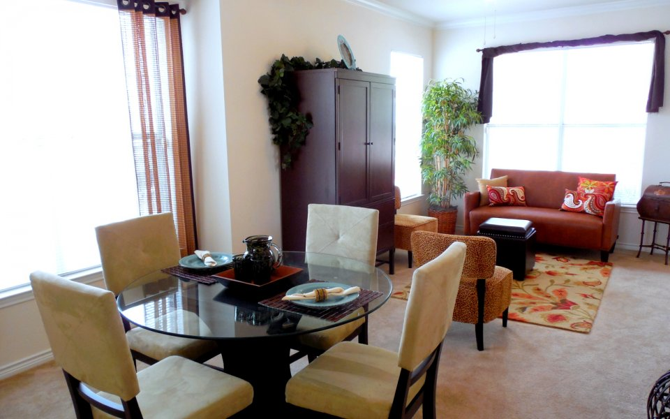 Spacious Dining Room | Apartment in San Antonio, TX | Legacy at Crown Meadows Townhomes