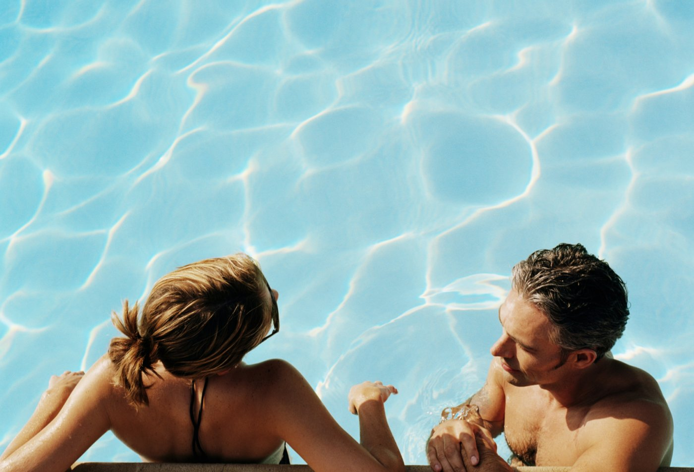 Residents Lounging by the Pool | Apartments For Rent Malvern PA |