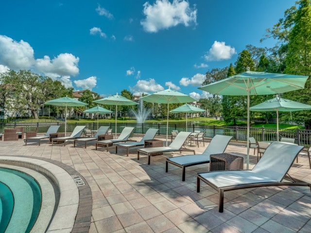 Image of Relaxing Swimming Pools with Lounge Areas for Sanctuary at Highland Oaks