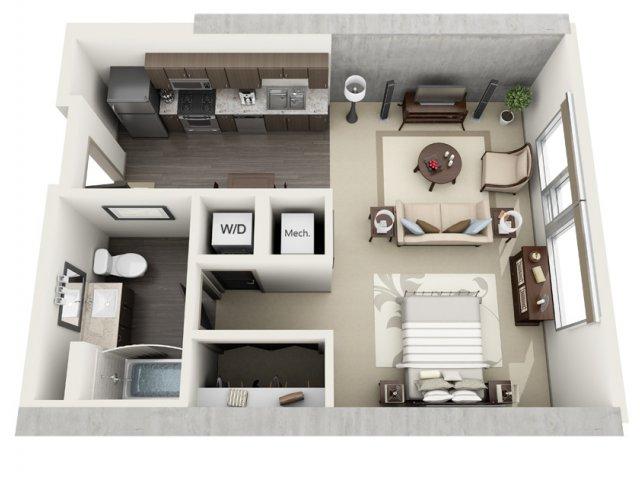 Studio Apartment Los Angeles studio apartments for rent los angeles | 1600 vine