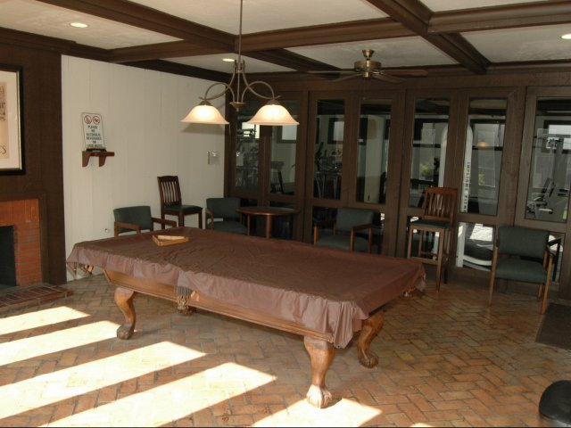 Image of Billiard Room for Alders Apartment Company
