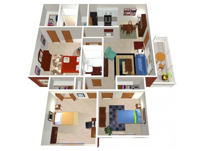Forest Ridge Ohio 3-bed floorplan