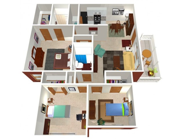 Park Hill at Fairlawn 3-bed floorplan