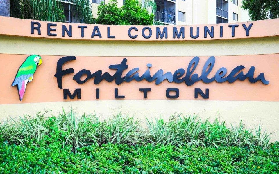 Fontainebleau Milton
