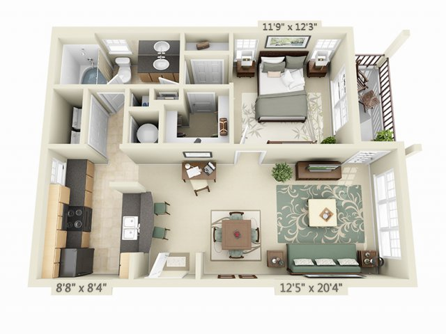 The Place on Millenia Boulevard Apartment Homes