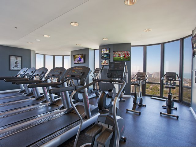 Image of 8,000 square foot fitness center for Eugenie Terrace