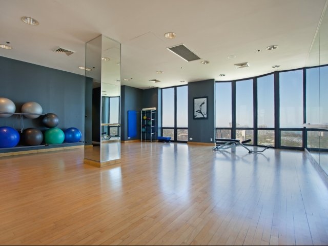Image of Separate cardio room for Eugenie Terrace