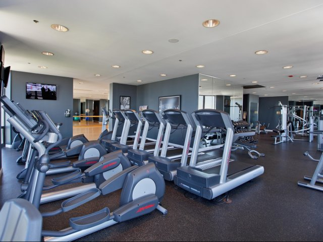 Image of Life Fitness strength and cardio equipment for Eugenie Terrace