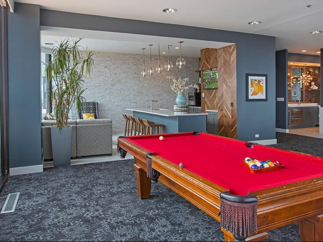 Image of Pool table for Eugenie Terrace