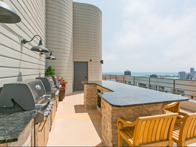 Image of Open-air grilling deck for Eugenie Terrace