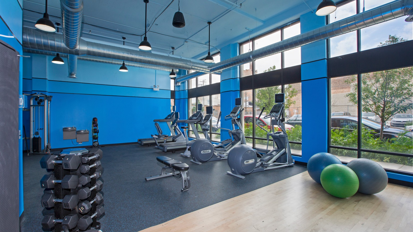 resident enjoy access to the fitness center
