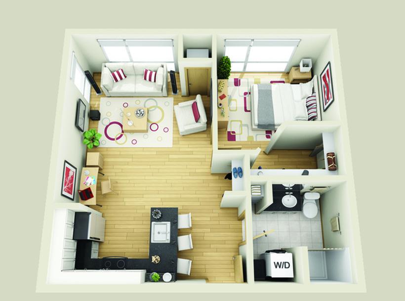 floor plan Nicollet