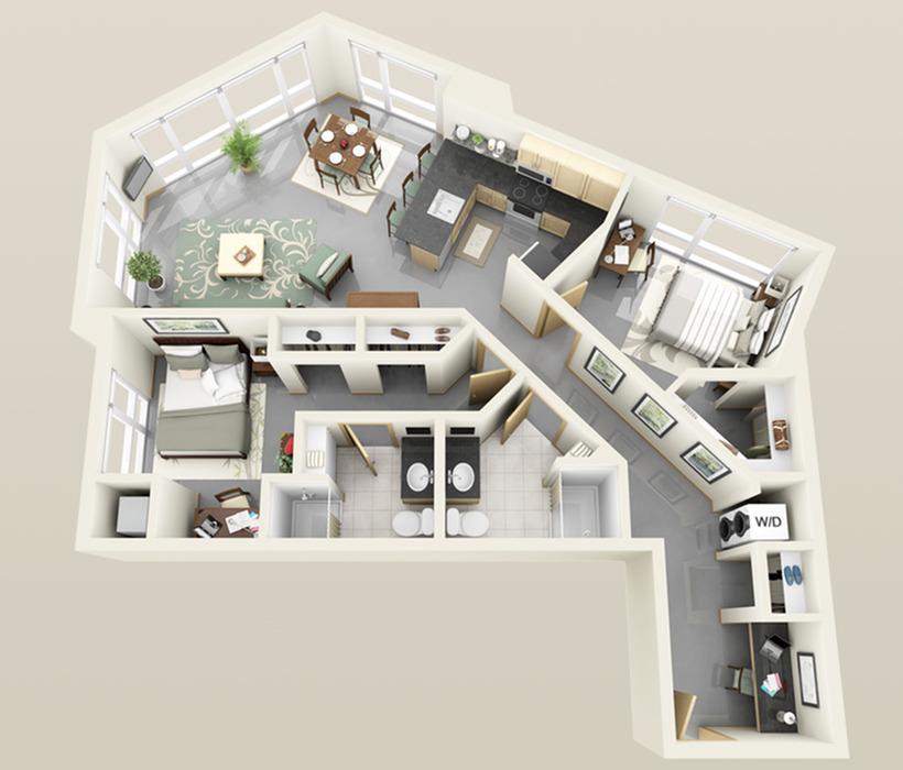 Solhaus Riverside Floorplan