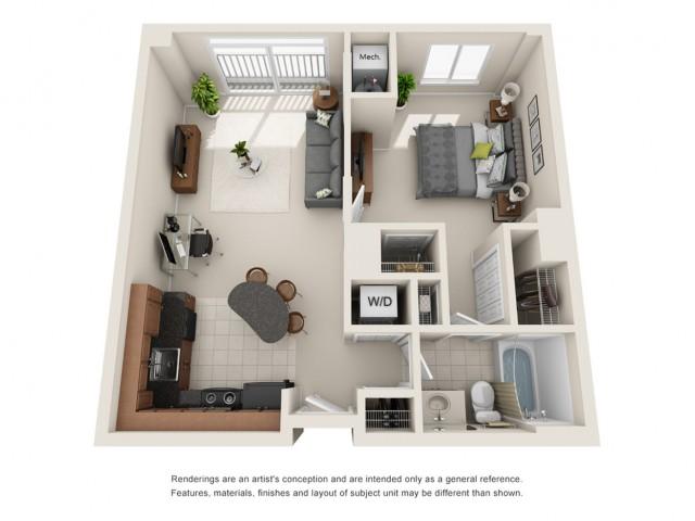 One bedroom apartments near Virginia Beach Waterfront