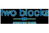 two blocks apartments logo