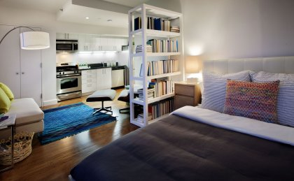 The Addison Apartments for Rent in Brooklyn, NY - Modern Bedroom