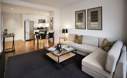 The Addison Apartments for Rent in Brooklyn, NY - Living Room