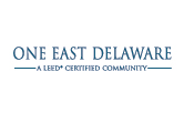 One East Delaware Apartments in Chicago, IL - Logo -