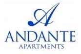 andante apartments logo