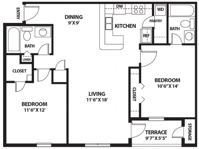 Floor Plan 9   Port Royale