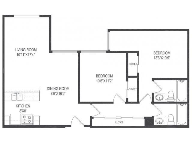 Floor Plan 2   Vida Hollywood2