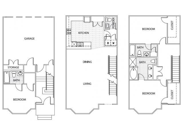 Floor Plan 27 | Parkside at Firewheel