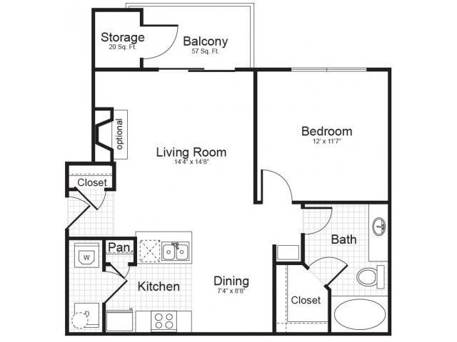 Floor Plan | Addison Park
