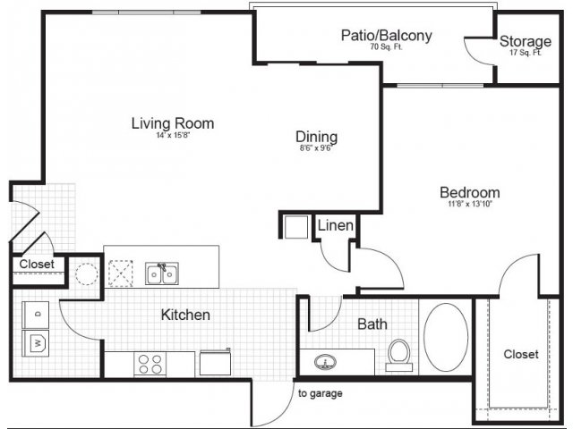 Floor Plan 4 | Addison Park