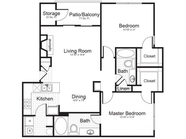 Floor Plan | Addison Park 2