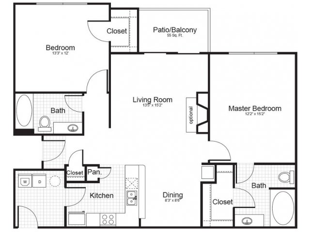 Floor Plan 2 | Addison Park 2