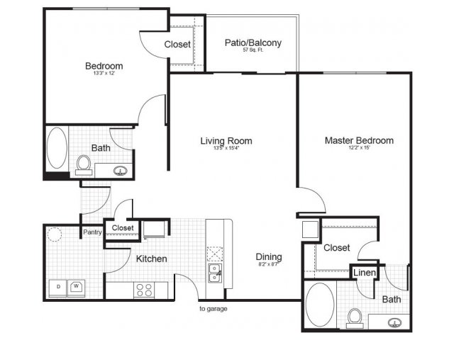 Floor Plan 3 | Addison Park 2