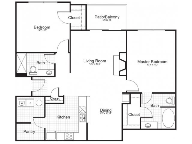 Floor Plan 4 | Addison Park 2
