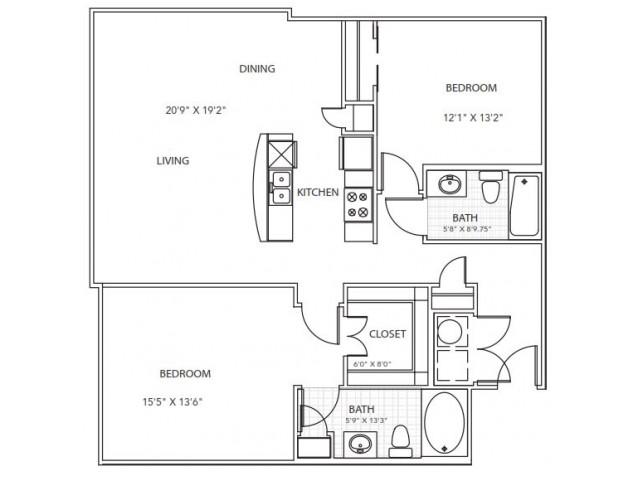 Floor Plan 8 | Parkside at Firewheel
