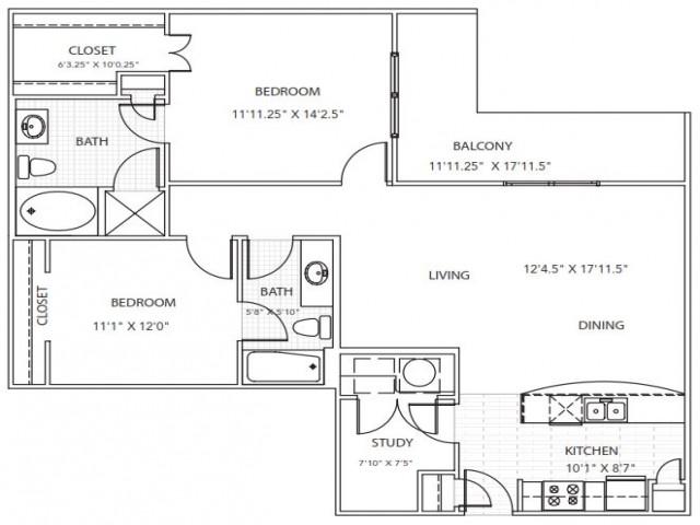 Floor Plan 9 | Parkside at Firewheel