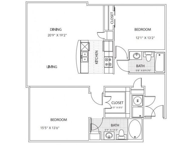 Floor Plan 11 | Parkside at Firewheel